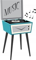 Music Player Print Art