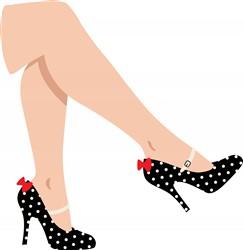 Legs & Heels Print Art