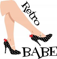 Retro Babe Print Art