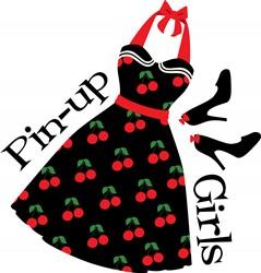 Pin-up Girls Print Art