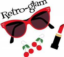 Retro Glam Print Art