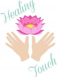 Healing Touch Print Art