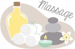 Spa Massage Print Art