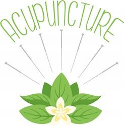 Acupuncture Print Art