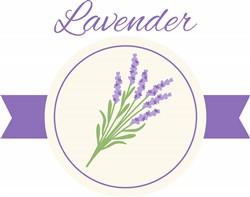 Lavender Print Art