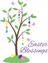 Easter Blessings Print Art
