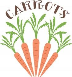 Carrots Print Art