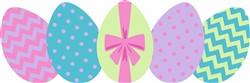 Easter Eggs Print Art