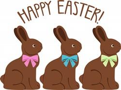 Easter Bunnies Print Art
