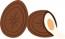 Cream Egg Print Art