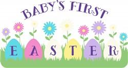 First Easter Print Art