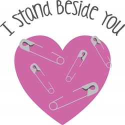 Stand Beside You Print Art