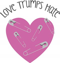 Love Trumps Hate Print Art