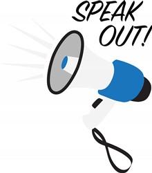 Speak Out Print Art