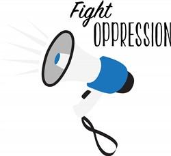 Fight Oppression Print Art