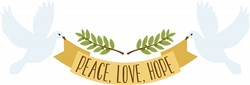 Peace Love Hope Print Art