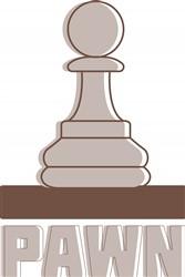 Chess Pawn Print Art