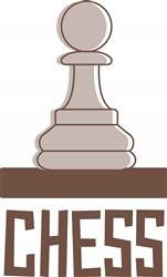 Chess Piece Print Art