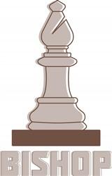 Chess Bishop Print Art