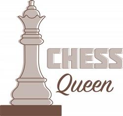 Chess Queen Print Art