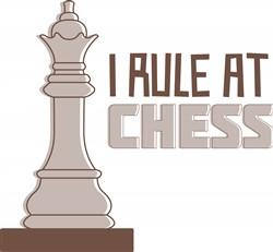 I Rule Chess Print Art