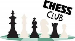 Chess Club Print Art