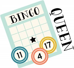 Bingo Queen Print Art