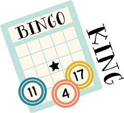 Bingo King Print Art