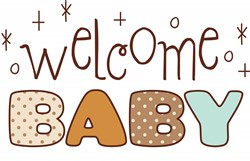 Welcome Baby Print Art