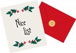 Nice List Print Art