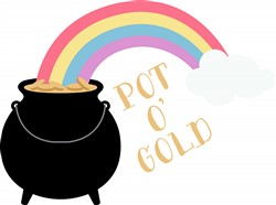 Pot O Gold Print Art