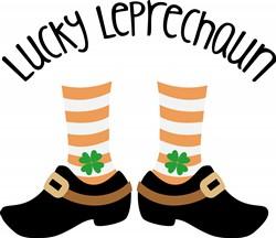 Lucky Leprechaun Print Art