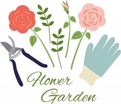 Flower Garden Print Art