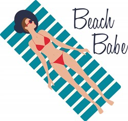 Beach Babe Print Art