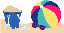 Beach Ball Print Art