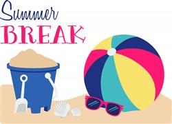 Summer Break Print Art