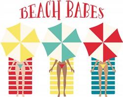 Beach Babes Print Art