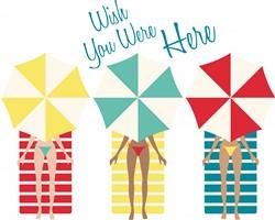 Wish You Were Here Print Art