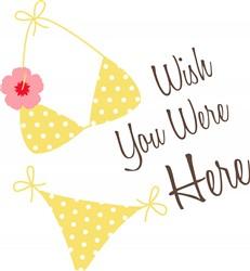Bikini Wish Print Art
