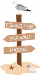 Fishing Pier Print Art