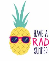 Rad Summer Print Art