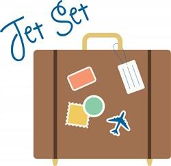 Jet Set Print Art