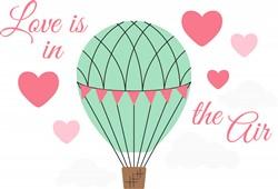 Love In Air Print Art