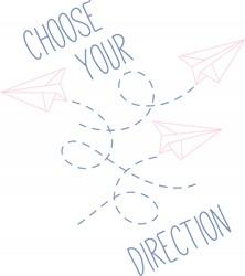 Choose Direction Print Art