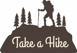 Take A Hike Print Art