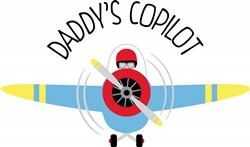 Daddys Copilot Print Art