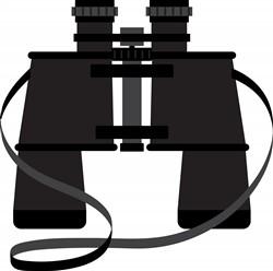 Binoculars Print Art