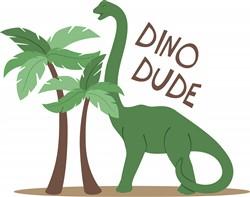 Dino Dude Print Art