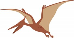 Pterodactyl Dinosaur Print Art