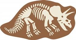 Stegosaurus Bones Print Art
